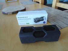 Altoparlanti Bluetooth Musica Box, Powerbank, NCF, lettore mp3 nero, OVP, water