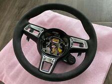 Porsche GT Sport Alcantara Steering Wheel - 991.2 911 GTS PDK w/ Sports Chrono
