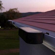 Luxflow Solar Powered Outdoor Gutter Light