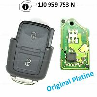 Fernbedienung Ersatz Schlüssel für VW Lupo Bora Polo Passat 1J0959753N 98-02