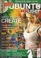 Ubuntu User magazine OpenAV Desktop publishing Natron video effects Docker CD