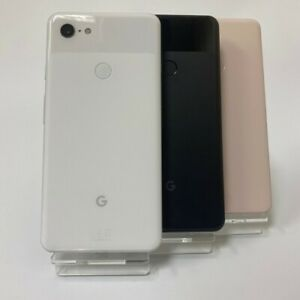 GOOGLE PIXEL 3 XL 64GB / 128GB - UNLOCKED - Just Black / White - Smartphone