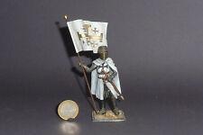 Zinnsoldat Tempelritter / Kreuzritter Crusader Authentic Miniatures 85mm hoch