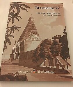 BLOOMSBURY AUCTIONS Books and Works on Paper Wed 27th July 2016 Catalogue