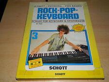 Schule für Keyboard & Synthesizer - Nr. 3 - incl. Tape - Schott