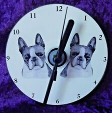More details for boston terrier cd clock by curiosity crafts