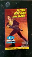FLYING DISC MAN FROM MARS Sci Fi Movie Martian Spaceman Film 50's Serial BW
