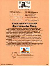 Estados Unidos Documento 1º día año 1989 (BP-450)