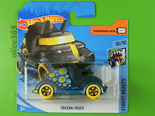 Hot Wheels 2020-Tricera-Truck-Street Beasts - T-Hunt - 212 - Nuevo en Emb. Orig.