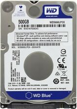 HARD DISK INTERNO NOTEBOOK 2,5 WESTERN DIGITAL 500GB 16MB SATA BULK NUOVO