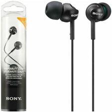 Auriculares en negro Sony de audio portátil