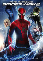 The Amazing Spider-Man 2 (DVD, 2014, Includes Digital Copy UltraViolet)