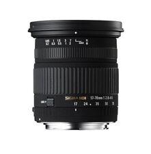 100% genuine Sigma 17-70 mm F/2.8-4.5 DC MACRO, Nikon AF, excellent état