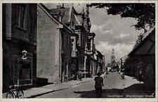 Gardelegen Sachsen Anhalt AK und Stempel 1943 Partie in der Magdeburger Straße