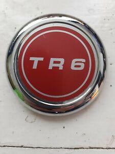 TRIUMPH TR6 CENTRE BADGE