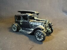 Collectible Cast Iron Old Fashion Toy Car Black