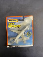 Matchbox Sky Busters Commercial & Military Aircraft Mattel Wheels Continental C
