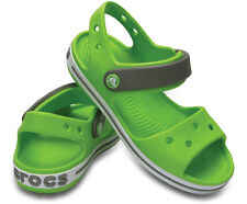 ed573f97ea76 Crocs Crocband Sandal Kids Unisex Boys Girls Touch Fasten Summer Beach  Sandals UK 3 (junior