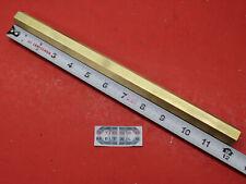 34 C360 Brass Hex Bar 12 Long New Lathe Bar Stock 75 Flat To Flat 12 Hard