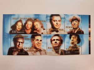 Finland Minisheet Mint Stamps 1999: Finnish Pop Music 30's until the 50's