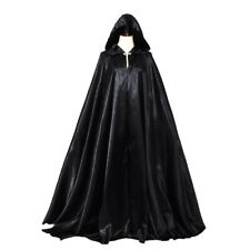Women Hooded Cloak Bridal Cape with Hood Full Length Cloak Wedding Cloak Cosplay