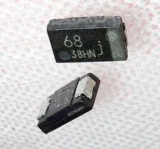 SMD Elko 68uF 6.3V Chip - Elko quadratisch sehr flach 7.25 4.25 1.75 [mm] ...10x