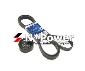 BOSCH DRIVE BELT & PULLEY FOR Audi Q5 03.2009-09.2012 2.0L Turbo 8R  CDNC