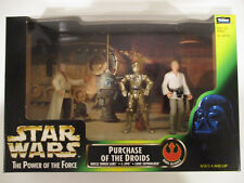 Hasbro Star Wars Power of the Force Green Cinema Scenes: Purchase of the Droids
