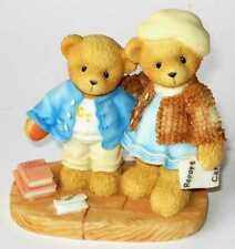 Cherished Teddies CLEMENT & JODIE Retired 2002 OVP NEU! - 706744