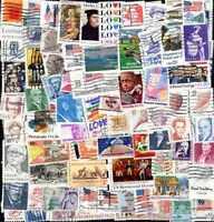 Vereinigte Staaten - States Sammlungen 50 à 2500 Briefmarken Unterschiedliche