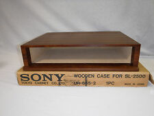 NEW OLD STOCK Sony SL-2500 Wood Cabinet Case - UR-665-2