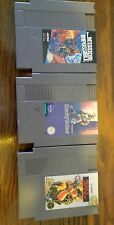 NES rush'n attack deadly towers mission impossible VIDEO GAME LOT