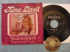 "7"" Single NINA LIZELL Küß, küß, küß / Love ist die Liebe 1970 Germany   M- to EX"