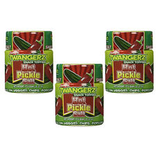 HOT PICKLE SALT - 3 PACK - SPICY PICKLES FLAVORED SEASONING TOPPING 3 x 1 OZ