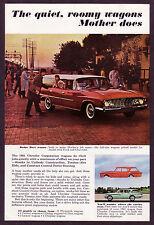1961 Vintage Chrysler Dodge Dart, Lancer, Plymouth Station Wagon Photo Print AD