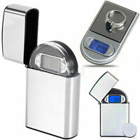 "0,01 g x 200g Gramm Mini Digital Pocket ""leichter"" Waage Schmuck Diamant Gewicht"