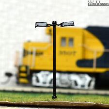 10 pcs HO scale Model Lampposts 12V street Lamp Courtyard Lights #048