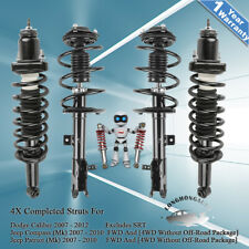 4X Front & Rear Struts Shock Absorbers For Jeep Compass Patriot Dodge Caliber