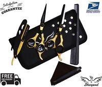 US Salon Hair Cutting Thinning Scissors Barber Shears Hairdressing Kit Set Tools