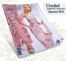 Zhurnal Mod 592 Journal Mod - Dress - Crochet Patterns Magazine in Russian