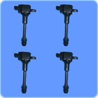 New Premium High Performance Ignition Coil (Set of 4) For Nissan Altima Sentra