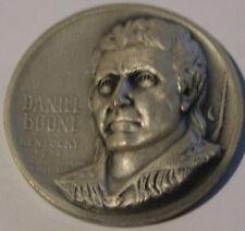 Daniel Boone Solid .999 Silver Statehood Art Medal Medallic Art Co.