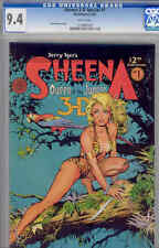 Sheena 3D Special #1  CGC 9.4: Jungle art by Dave Stevens: Price Drop!