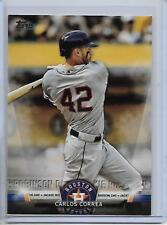 2018 Topps Carlos Correa Topps Salutes Insert Card