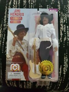 "Mego Music - JIMI HENDRIX 8"" Action Figure - 14 Point Articulation"