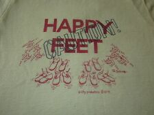 HAPPY FEET STEVE MARTIN FAN CLUB TEE SHIRT 1978 EXCUSE US RARE 70S