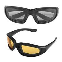 Motorcycle Riding Glasses Windproof Dustproof Eye Goggles Outdoor Eyewear New