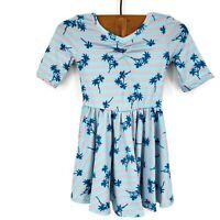 New Dot Dot Smile Palm Trees Ballerina Dress Baby Girl 12/24 Months Twirl