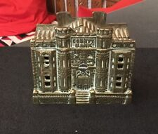 Vintage Brass County Bank Penny Pennybank Moneybox Money Box