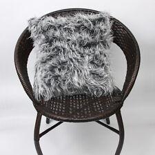 Soft Long Plush Cushion Cover Bed Sofa Throw Fur Pillow Case Home car Decoration